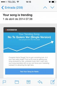 Reverbnation Chart